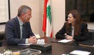 لازاريني التقى الصفدي: حريصون على الإستقرار في لبنان