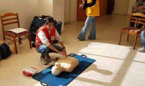 """محاضرة تدريبية لـ""""سان انطوني سكول""""حول أمراض القلب لدى الشباب"""