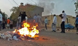 اطلاق الغاز المسيل للدموع على احتجاج للمدرسين في السودان