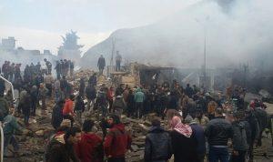 انفجار في معبر حدودي بين سوريا وتركيا