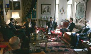 تيمور جنبلاط عرض التطورات مع السفير البريطاني
