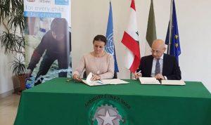 هبة إيطالية لليونيسيف لدعم برنامج المياه والصرف الصحي في لبنان