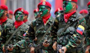 جيش فنزويلا: على من يحاول فرض حكمه أن يمرّ فوق جثثنا أولا!
