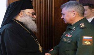 يازجي التقى وزير الدفاع الروسي