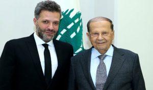"""الرئيس عون لزين العمر: """"قاوم وسامح"""""""