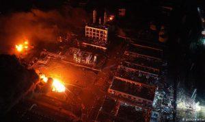 عدد ضحايا انفجار مصنع الكيميائيات في الصين الى ارتفاع