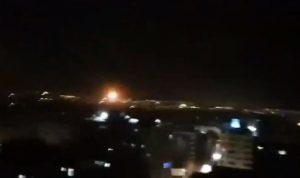 إسرائيل تقصف مقرا سريا لحماس في غزة (فيديو)