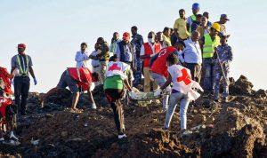 العثور على الصندوقين الأسودين للطائرة الإثيوبية المنكوبة