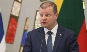 رئيس وزراء ليتوانيا يتعهد بنقل سفارة بلاده من تل أبيب للقدس