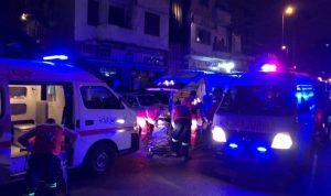 إصابة 9 أشخاص بحريق في طرابلس