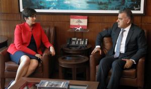 إبراهيم عرض وسفيرة كندا الأوضاع العامة