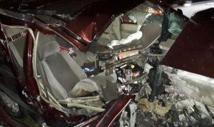 بالصور: 3 جرحى بحادث مروع في صيدا