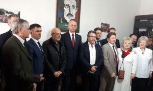شهيب بحث مع سفير بيلاروسيا سبل التعاون