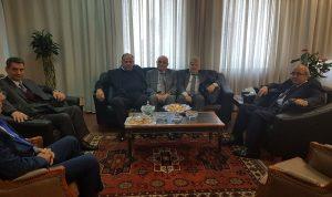 سرحان بحث ووفد من المجلس الأرثوذكسي شؤون الطائفة