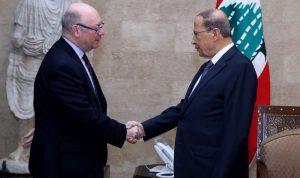 بريطانيا تجدّد التزامها دعم لبنان