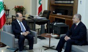 طرابلسي زار عون: لتساهم الدولة في الحفاظ على التعليم الخاص
