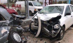 جريح بحادث سير في حلبا – عكار