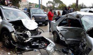 بالفيديو والصور- حادث سير مروع على طريق جعيتا