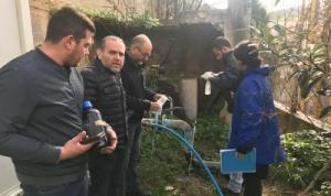 بلدية شدرا أوضحت نتائج الفحوصات المخبرية لمياه آبار البلدة
