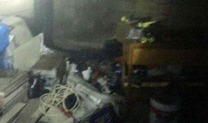 إخماد حريق في مستودع تخزين ألبسة في فاريا