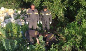 نقل جثة من الجناح إلى مستشفى رفيق الحريري