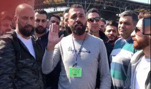 """بالفيديو – عمال مرفأ بيروت يعتصمون: """"لن نعمل الاحد"""""""