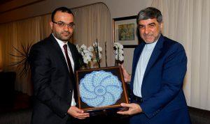 هدية من السفير الإيراني الى داوود