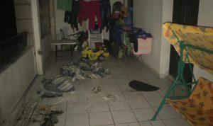 حريق داخل شقة في عاليه