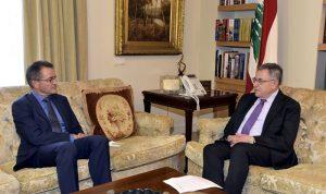 السنيورة عرض مع سفيري ألمانيا والكويت العلاقات الثنائية