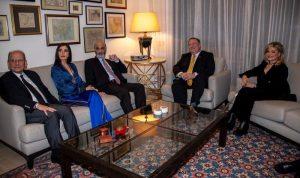 جعجع التقى بومبيو في السفارة الأميركية