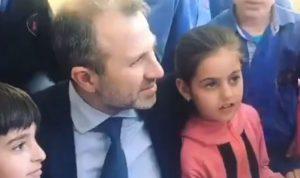 """باسيل من بلغاريا: """"هيك مننشر لبنان بالعالم"""" (فيديو)"""