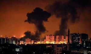 """""""غلاف غزة"""" يشتعل: الحرائق مقابل مساحة الصيد"""