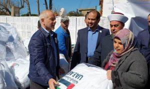 الشامسي وزّع مساعدات في عكار: مشاريعنا مستمرة