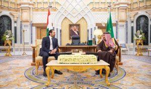 بالصورة: لقاء بين الحريري والملك سلمان