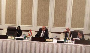 اللقيس بحث ونظيره السعودي في ترسيخ العلاقات