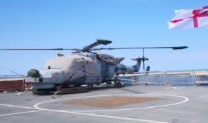 HMS Dragon في لبنان