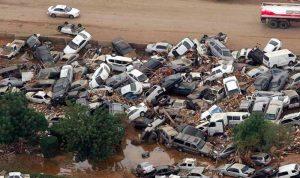 """بالفيديو والصور: فيضانات """"قاتلة"""" تجتاح إيران"""