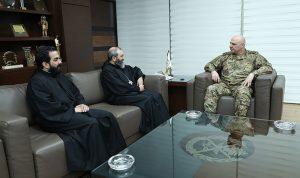 سلسلة لقاءات لقائد الجيش
