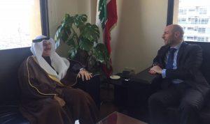 سفير الكويت: سنبقى الى جانب لبنان