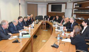 لقاء بين البنك الدولي ورؤساء من اللجان النيابية