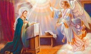 هذه هي عطلة الصحافة في عيد بشارة السيدة مريم العذراء