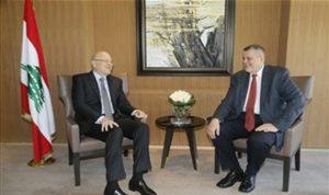 ميقاتي إستقبل يان كوبيش: نعول على الامم المتحدة في وقف التعديات الاسرائيلية