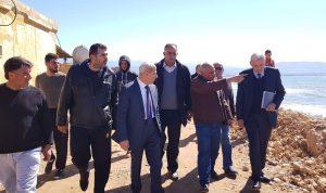 جولة تفقدية لمرفأ الصيادين في ميناء طرابلس وشاطئ عرمان