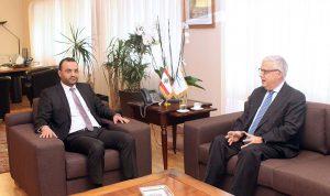 داوود بحث وسفير المكسيك في العلاقات الثنائية
