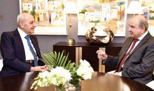 الملك الأردني يستقبل برِّي: المياه مُقابل الكهرباء