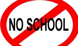 """""""لا مدارس بعد اليوم""""…"""