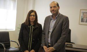 سفيرة قبرص: لدينا النية بدعم الحكومة