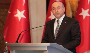أوغلو: العملية العسكرية في سوريا حق طبيعي لتركيا