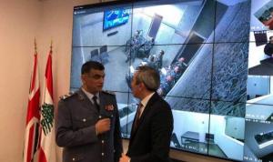 """افتتاح غرف تحقيق نموذجية ونظام للمراقبة لـ""""قوى الأمن"""""""