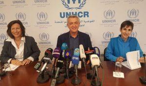 غراندي: العمل مع سوريا سيعيد الكثير من النازحين إلى سوريا